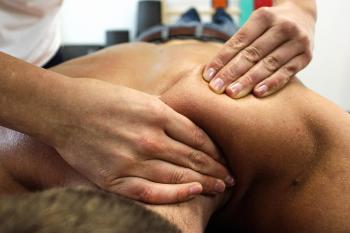 Sportmassage door Berry Harms te Stadskanaal